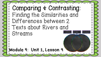 ENGAGE NY EL 3rd grade Module 4:  Unit1, Lesson 9 PowerPoint