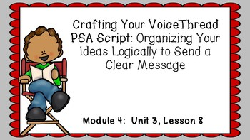 ENGAGE NY EL 3rd grade Module 4:  Unit3, Lesson8 PowerPoint