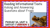 ENGAGE NY Expeditionary Learning Module 2a Unit 2 Lesson 1