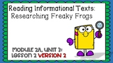 ENGAGE NY Expeditionary Learning Module 2a Unit 3 Lesson 2 2nd Edition PPT