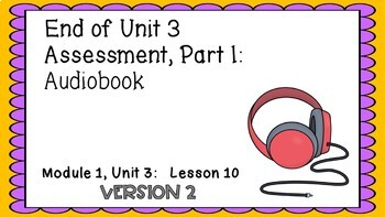 ENGAGE NY Expeditionary Learning PowerPoint Module 1 Unit 3 Lesson 10 Version 2