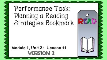 ENGAGE NY Expeditionary Learning PowerPoint Module 1 Unit 3 Lesson 11 Edition 2