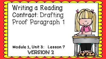 ENGAGE NY Expeditionary Learning PowerPoint Module 1 Unit 3 Lesson 7 2nd Edition