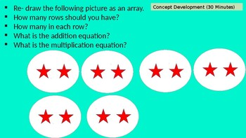 ENGAGE NY GRADE 3 MATH MODULE 1 LESSON 2 POWERPOINT !!