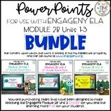 FOR USE WITH ENGAGENY ELA MODULE 2B UNITS 1-3 4th Grade BUNDLE