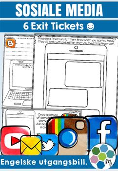 """ENGELSK: Sosiale media utgangsbilletter - """"korking"""" av kunnskap!"""
