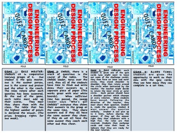 ENGINEERING DESIGN, Quiz Cards