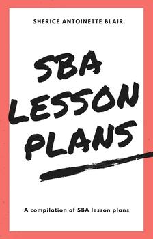 ENGLISH A & B SBA LESSON PLANS BUNDLE