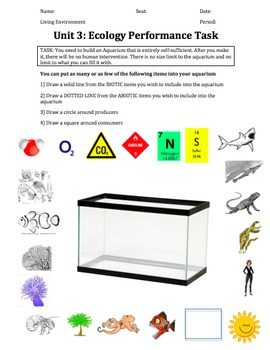 ENGLISH AND SPANISH Ecology Lab Bundle - Design an Ecosystem-
