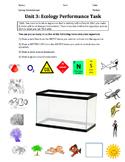 ENGLISH AND SPANISH Ecology Lab Bundle - Design an Ecosystem-