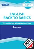 ENGLISH BACK TO BASICS: GRAMMAR UNIT (Year 6 /P7, Age 11-12)