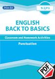 ENGLISH BACK TO BASICS: PUNCTUATION UNIT (Year 2 /P3, Age 7-8)