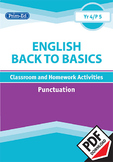 ENGLISH BACK TO BASICS: PUNCTUATION UNIT (Year 4 /P5, Age 9-10)