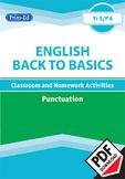 ENGLISH BACK TO BASICS: PUNCTUATION UNIT (Year 5 /P6, Age 10-11)