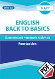 ENGLISH BACK TO BASICS: PUNCTUATION UNIT (Year 6 /P7, Age 11-12)