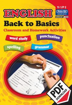 ENGLISH BACK TO BASICS: YR1/P2 EBOOK