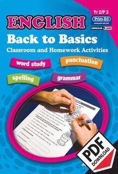 ENGLISH BACK TO BASICS: YR2/P3 EBOOK
