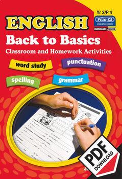 ENGLISH BACK TO BASICS: YR3/P4 EBOOK
