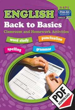 ENGLISH BACK TO BASICS: YR4/P5 EBOOK