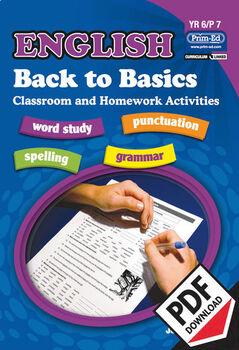 ENGLISH BACK TO BASICS: YR6/P7 EBOOK