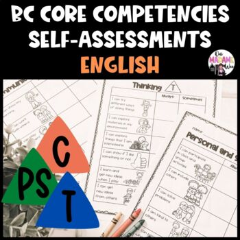 ENGLISH BC Core Competencies Self-Evaluations