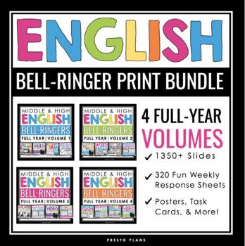 ENGLISH BELL RINGERS PRINT BUNDLE