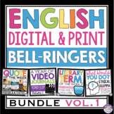 ENGLISH BELL RINGERS DIGITAL / PRINT BUNDLE (VOL 1): PAPERLESS & PRINT
