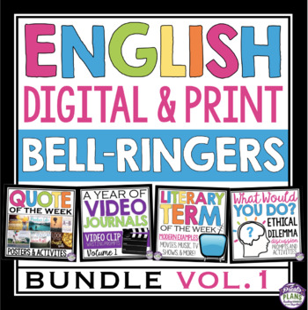 ENGLISH BELL RINGERS DIGITAL / PRINT BUNDLE (VOL 1): PAPERLESS & PRINT