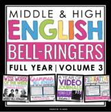 ENGLISH BELL RINGERS - VOL 3