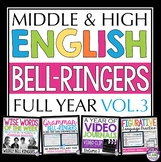 ENGLISH BELL RINGERS : VOLUME 3