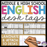 ENGLISH DESK TAGS: FICTION, POETRY, NON-FICTION, DRAMA