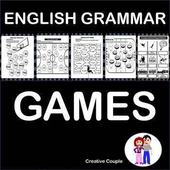 ENGLISH GRAMMAR GAMES!