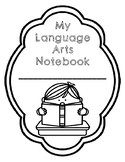 ENGLISH Interactive Notebook Covers to Color In