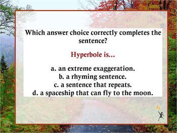 ENGLISH LANG. ARTS TEST PREP PACK~4 FLIPCHARTS~3,4,5,6 GRA