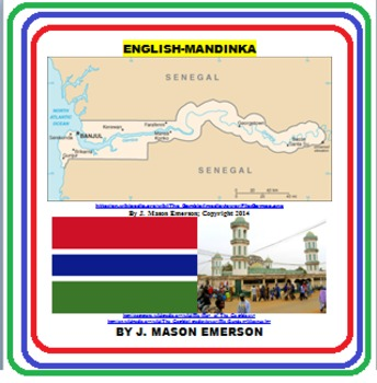 LANGUAGES, AFRICAN CULTURE: ENGLISH-MANDINKA FUN LEARNING