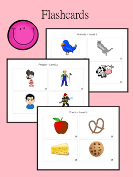 ENGLISH & SPANISH Vocabulary & Progress Monitoring Packet for the Little Ones