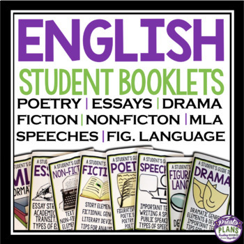 ENGLISH STUDENT REFERENCE HANDBOOKS