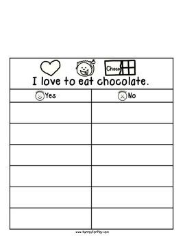 Foods I Like Vol I - Surveys (English)