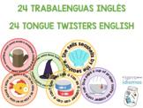 ENGLISH TONGUE TWISTERS / TRABALENGUAS CLASE DE INGLÉS