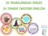 ENGLISH TONGUE TWISTERS / TRABALENGUAS CLASE DE INGLÉS