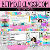 ENGLISH VERSION Bitmoji Virtual Classroom | Meet the Teacher