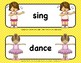 FRENCH + ENGLISH + SPANISH WORD WALL - ACTION VERBS - FREE LIMITED TIME OFFER