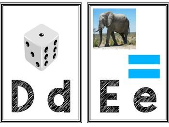 ENGLISH Word Wall Alphabet