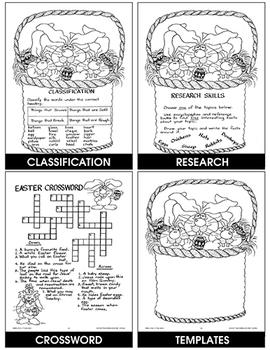 ENJOY THE MAGIC OF EASTER Gr. 4-6