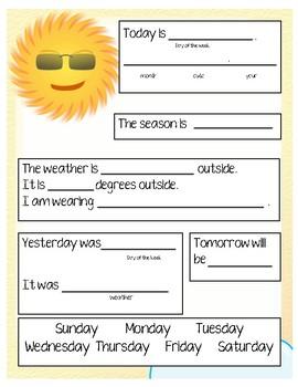 ENL/ESL Weather