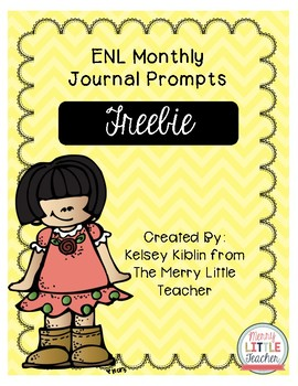 ENL Monthly Journal Prompts