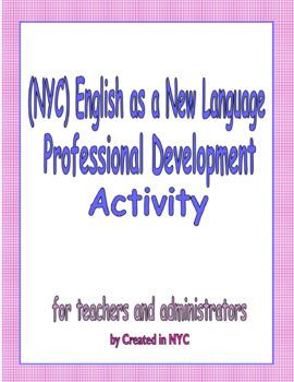 ENL Professional Development Activity NYC