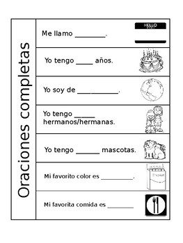 ENL Spanish to English Phrase Flip Book