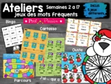 ENSEMBLE jeux des mots fréquents - semaine 2 à 17