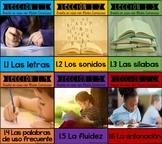 BUNDLE ENSEÑAR A LEER - READING IN SPANISH - Primera parte programa ADDO